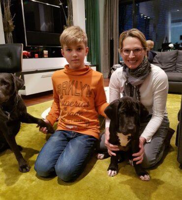Felina und Findus sind in ihre Familien gezogen.