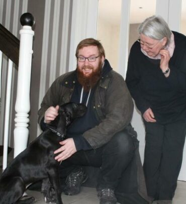 Felix von Andorf ist heute in seine neue Familie gezogen.