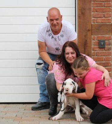 Duffy zieht in ein neues Zuhause